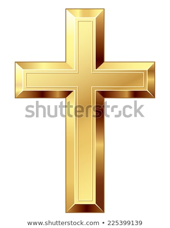 three gold cross Stock photo © blackmoon979