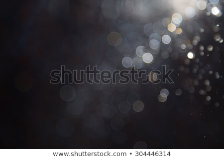 Foto stock: Black Background With White Circles