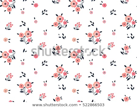 Bonitinho simples teste padrão de flor textura fundo tecido Foto stock © SArts