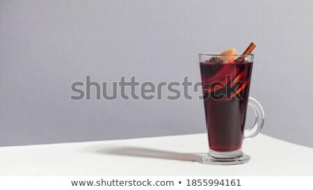 корицей ароматический чай природного Кубок гвоздика Сток-фото © wdnetstudio