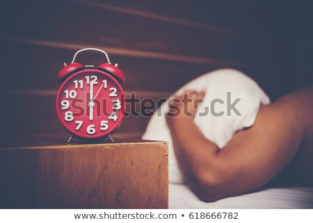 unpleasant morning dont want to wake up stock photo © nobilior