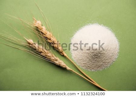 durum wheat semolina flour stock photo © digifoodstock