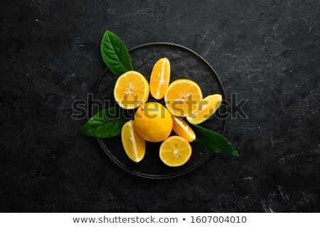 slice of fresh lemon Stock photo © Digifoodstock