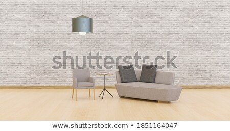 3D Psychologist sitting on a sofa working Stock photo © texelart