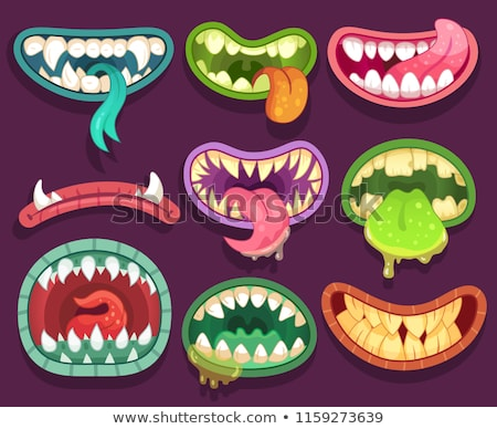 Monster Mouth Stock photo © Lightsource