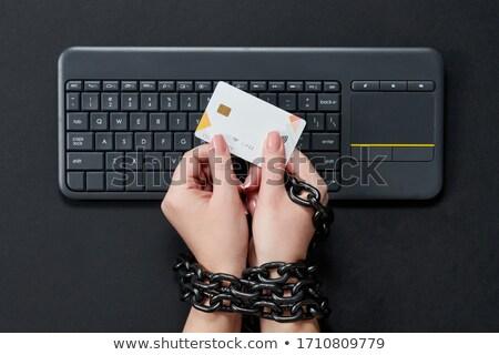 Consumer Protection - Metallic Keyboard Concept. Stock photo © tashatuvango