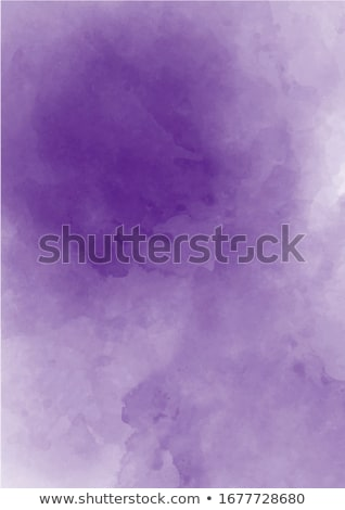 delicate watercolor background with water stains Stock photo © balasoiu