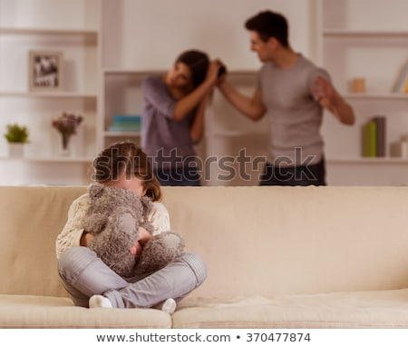 unhappy woman suffering from domestic violence Stock photo © dolgachov