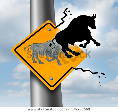 Escape The Bull Market Stock photo © Lightsource