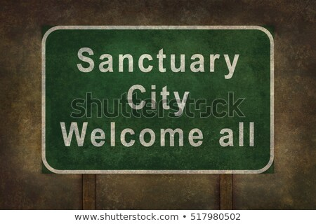 Sanctuary City Stock photo © Lightsource