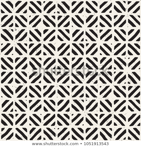 Hand drawn seamless repeating pattern with lines tiling. Grungy freehand background texture. Stock photo © Samolevsky