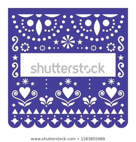 festival · cartão · floral · decoração · abstrato · projeto - foto stock © redkoala