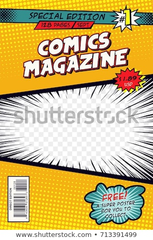 Couvrir layout modèle livre art Photo stock © SArts