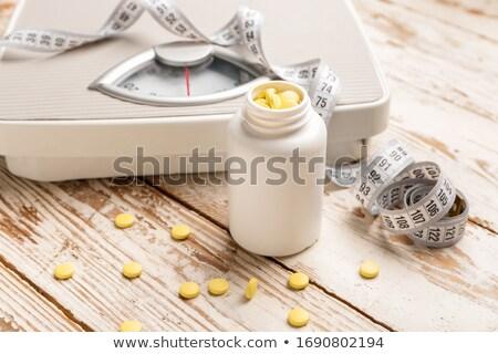 Obesity Pill Stock photo © Lightsource