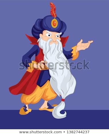 Angry Cartoon Sultan Stock photo © cthoman