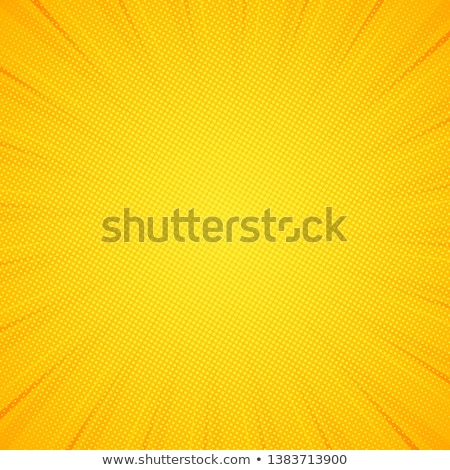 Yellow Background With Rays Stock photo © barbaliss
