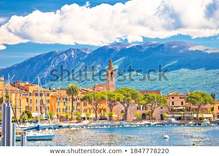 Toscolarno Maderno village on Lago di Garda view Stock photo © xbrchx