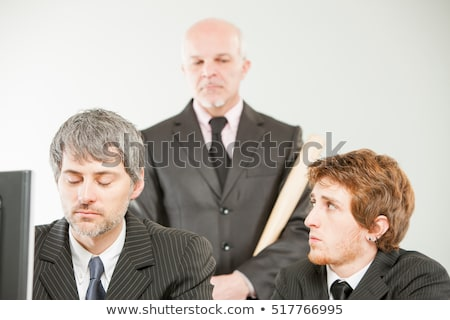 плохо управления служба бизнесмен рабочих команда Сток-фото © Minervastock
