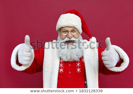 surprise elderly man with glasses okay gesture stock photo © studiostoks