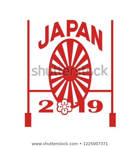 Rugby Goal Post Japan 2019 Stock photo © patrimonio