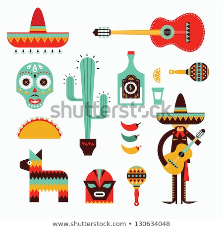 Mexicano cal cacto pormenor verde bola Foto stock © boggy