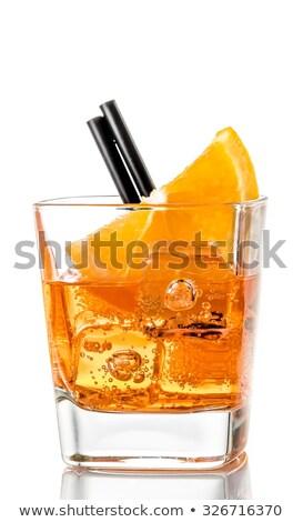 Aperol orange cocktail  Stock photo © grafvision