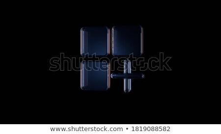 izometrik · vektör · iniş · sayfa · şablon · hareketli - stok fotoğraf © genestro