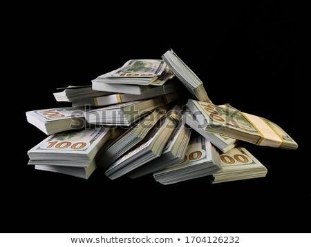 Dinheiro dois dólares dourado moedas assinar Foto stock © timurock