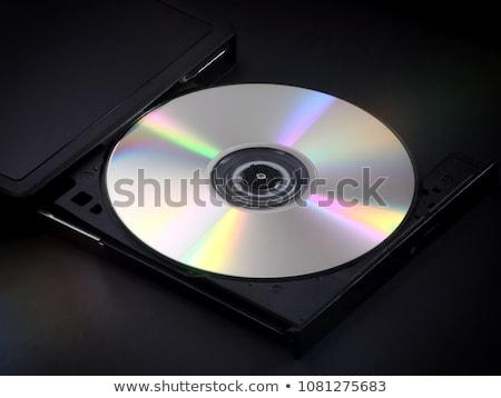 серебро оптический диска различный компьютер технологий Сток-фото © magraphics