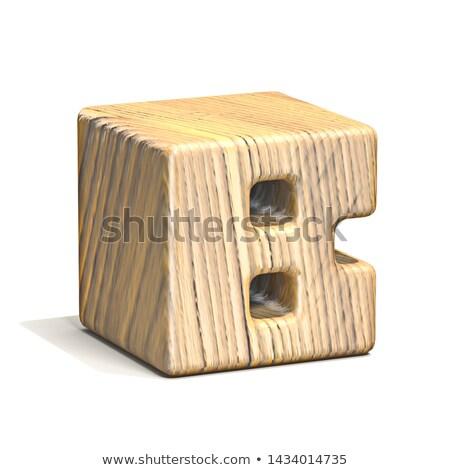 Sólido cubo fonte carta 3D Foto stock © djmilic