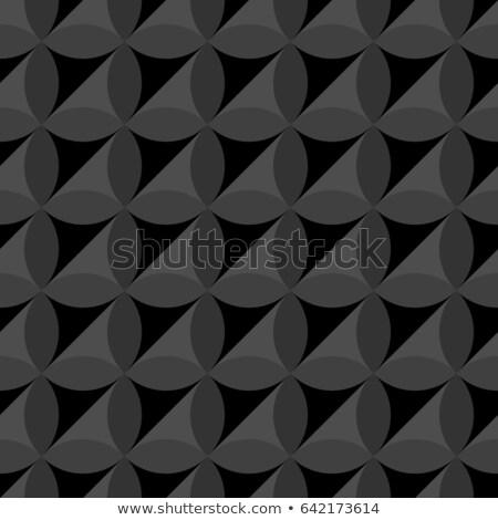 Decorativo piso padrão oval pedras Foto stock © boggy