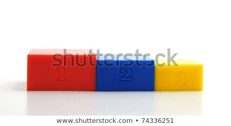 Podium with Different Levels, Winners Pedestal Stock photo © robuart