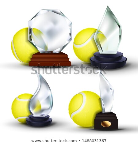 Tennis jeu attribution vecteur balle Photo stock © pikepicture