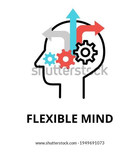flexible learning process vector concept metaphors stock photo © rastudio