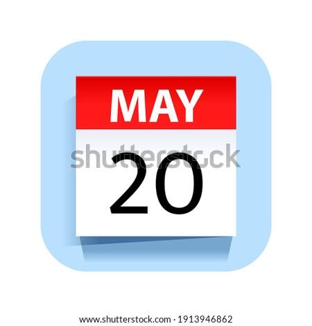 Egyszerű fekete naptár ikon 20 randevú Stock fotó © evgeny89