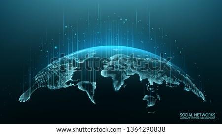 Illustration partout dans le monde terre image Photo stock © wavebreak_media