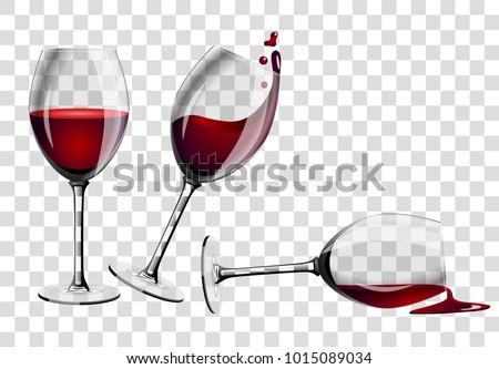 коктейль стекла набор пусто очки шампанского Сток-фото © Escander81