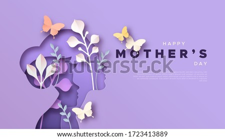 Women's day greeting card beautiful colorful illustration vector Stock photo © bharat