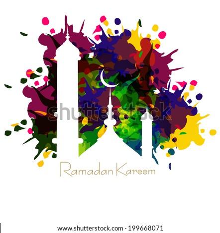 ラマダン カード カラフル モスク 実例 ストックフォト © bharat