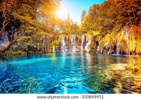 Vista turquesa agua soleado ubicación Foto stock © Leonidtit