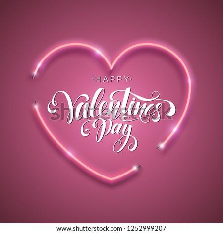 счастливым сердце типографики письме Сток-фото © articular