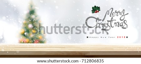 Christmas background falling snow on decorated pine tree branches  Stock photo © mblach