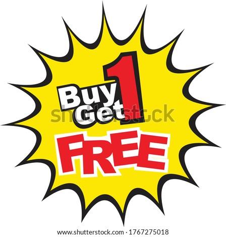 free starburst label, vector illustration isolated on transparent background. Stock photo © kyryloff