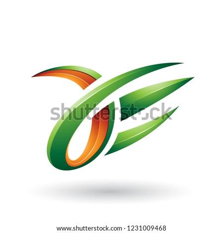 корпоративного · личности · шаблон · дизайна · оранжевый · цвета - Сток-фото © cidepix