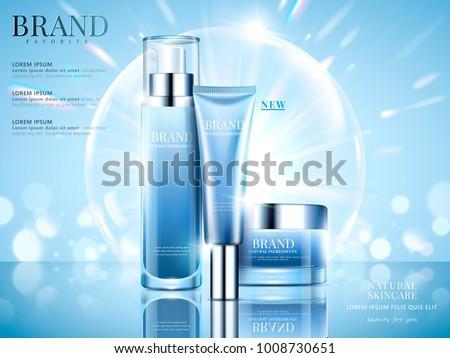 化粧品 ボトル パッケージ ベクトル 明るい ストックフォト © pikepicture
