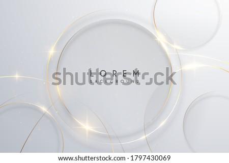 Stock fotó: Vektor · absztrakt · keret · centrum · kézzel · rajzolt · mintázott