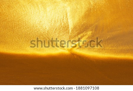 Water ocean texture of beach sand background. Trend photography in the new color of the year 2019 -  Stock photo © artjazz