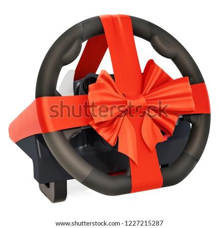 yalıtılmış · direksiyon · araba · hızlandırmak · dişli - stok fotoğraf © iserg