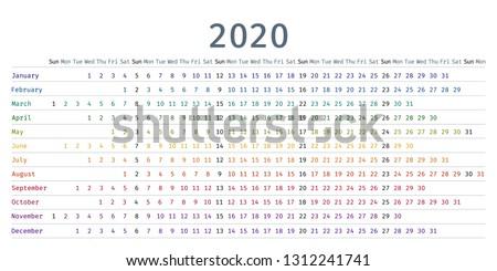 Jahr linear Stil isoliert weiß Textur Stock foto © kyryloff