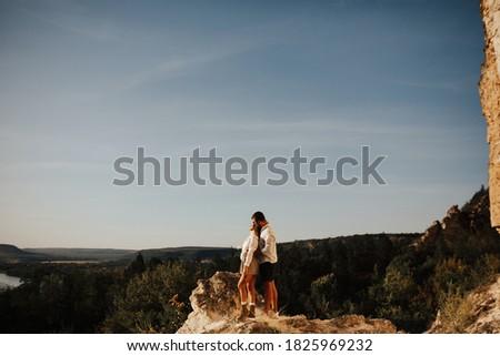 小さな 強い 男 最愛 女性 先頭 ストックフォト © ElenaBatkova